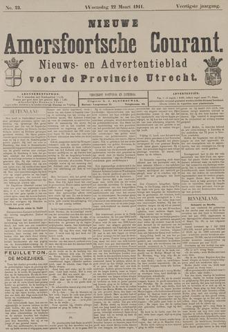 Nieuwe Amersfoortsche Courant 1911-03-22