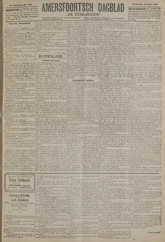 Amersfoortsch Dagblad / De Eemlander 1919-04-24