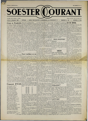 Soester Courant 1952-02-22