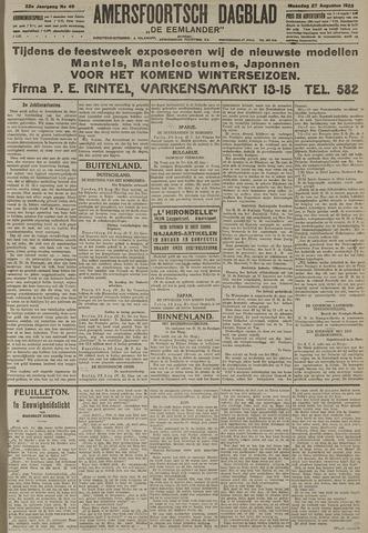 Amersfoortsch Dagblad / De Eemlander 1923-08-27