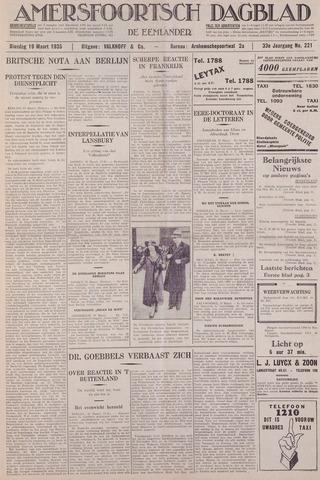 Amersfoortsch Dagblad / De Eemlander 1935-03-19