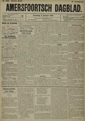 Amersfoortsch Dagblad 1909-01-09