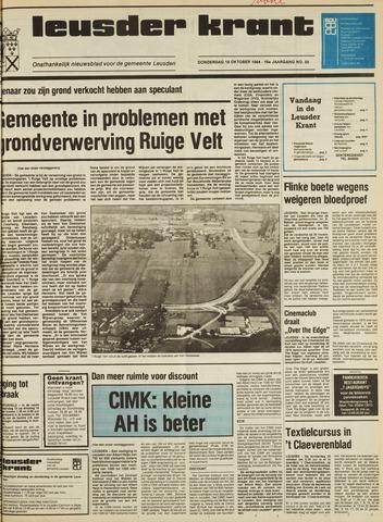 Leusder Krant 1984-10-18