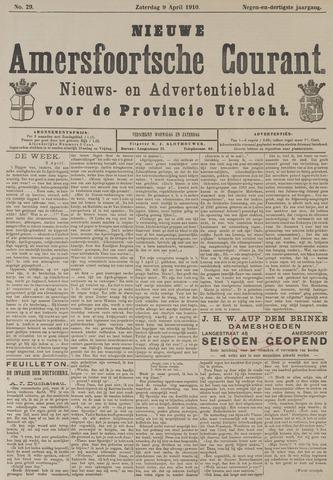 Nieuwe Amersfoortsche Courant 1910-04-09