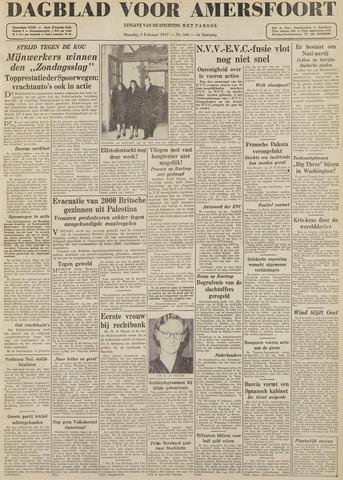 Dagblad voor Amersfoort 1947-02-03
