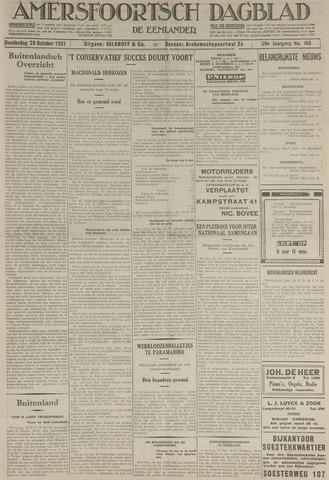 Amersfoortsch Dagblad / De Eemlander 1931-10-29
