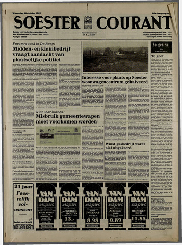 Soester Courant 1981-10-28