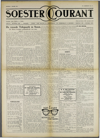 Soester Courant 1955-03-01