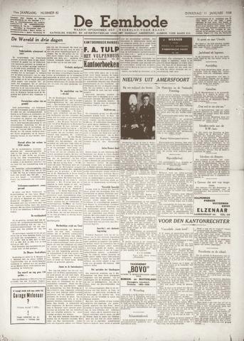 De Eembode 1938-01-11