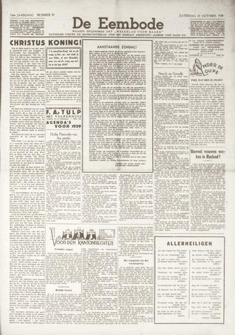 De Eembode 1938-10-29