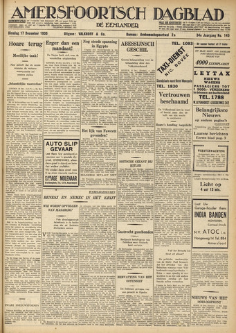 Amersfoortsch Dagblad / De Eemlander 1935-12-17