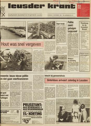 Leusder Krant 1984-11-13
