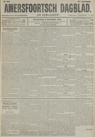 Amersfoortsch Dagblad / De Eemlander 1913-12-04