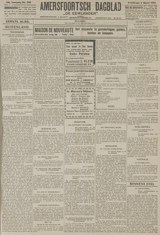 Amersfoortsch Dagblad / De Eemlander 1926-03-04