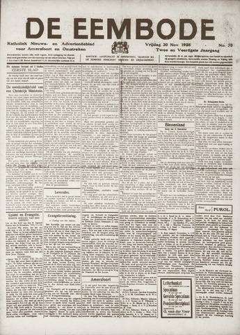 De Eembode 1928-11-30
