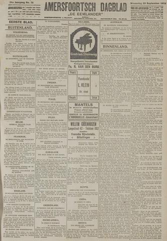 Amersfoortsch Dagblad / De Eemlander 1925-09-23