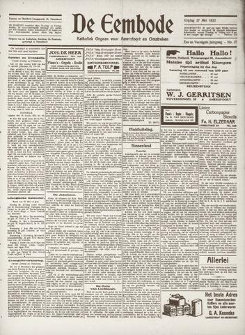 De Eembode 1932-05-27