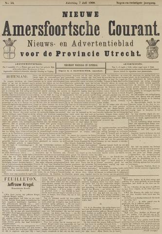 Nieuwe Amersfoortsche Courant 1900-07-07
