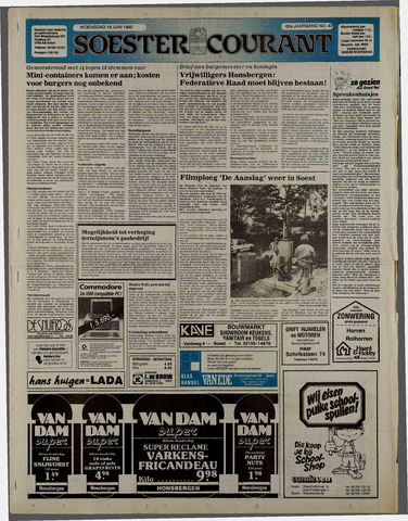 Soester Courant 1985-06-19