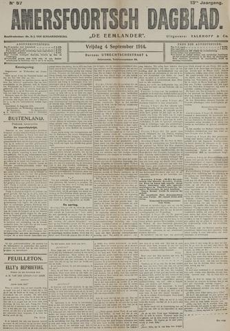 Amersfoortsch Dagblad / De Eemlander 1914-09-04