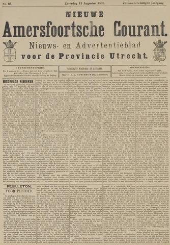 Nieuwe Amersfoortsche Courant 1898-08-13