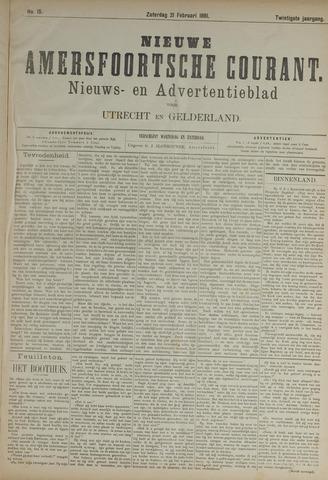 Nieuwe Amersfoortsche Courant 1891-02-21