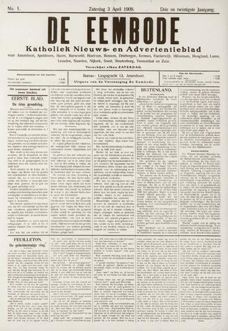 De Eembode 1909-04-03