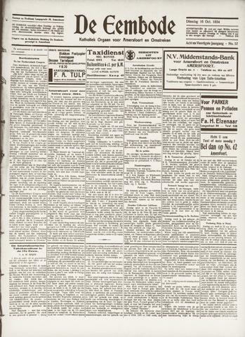 De Eembode 1934-10-16