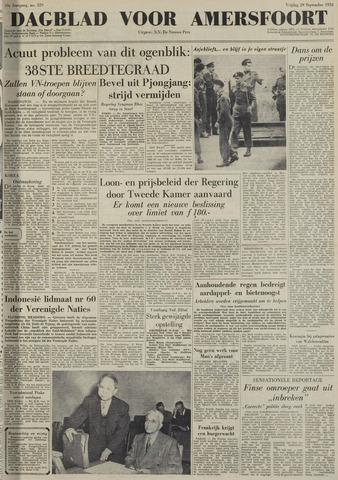 Dagblad voor Amersfoort 1950-09-29