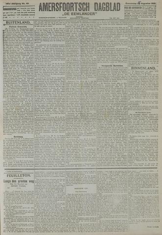 Amersfoortsch Dagblad / De Eemlander 1921-08-25
