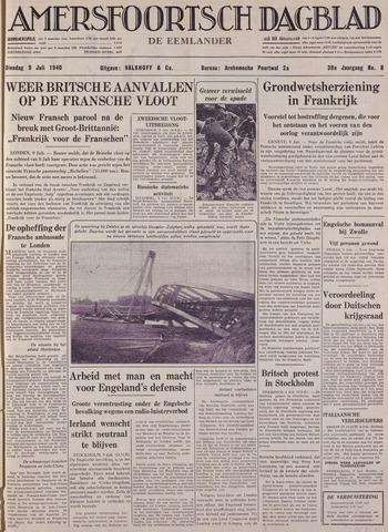 Amersfoortsch Dagblad / De Eemlander 1940-07-09