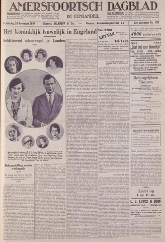 Amersfoortsch Dagblad / De Eemlander 1934-11-29