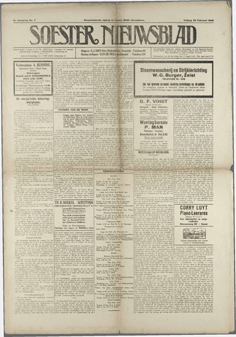 Soester Courant 1925-02-20