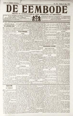 De Eembode 1913-08-08