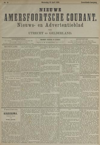 Nieuwe Amersfoortsche Courant 1888-04-18