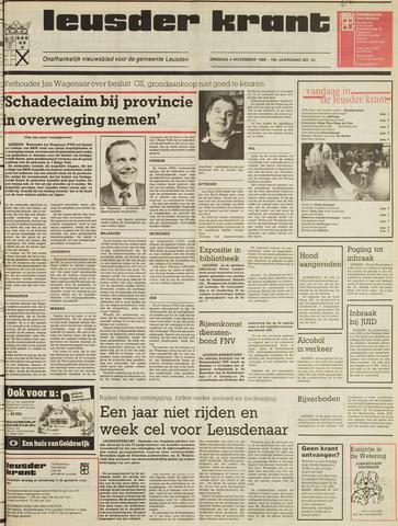 Leusder Krant 1986-11-04