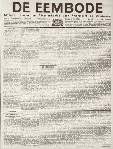 De Eembode 1915-06-01