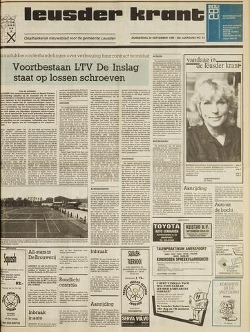 Leusder Krant 1988-09-29