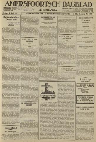 Amersfoortsch Dagblad / De Eemlander 1932-06-03