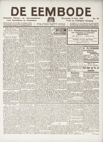 De Eembode 1928-09-19