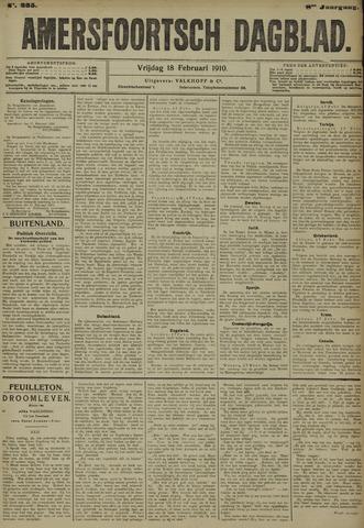 Amersfoortsch Dagblad 1910-02-18