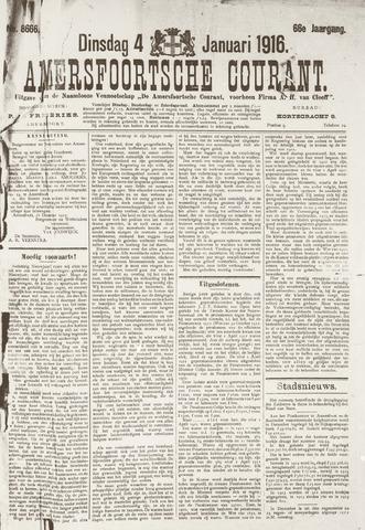 Amersfoortsche Courant 1916