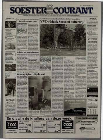 Soester Courant 2003-08-06