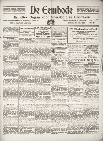 De Eembode 1932-01-15