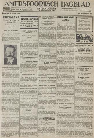 Amersfoortsch Dagblad / De Eemlander 1929-10-31
