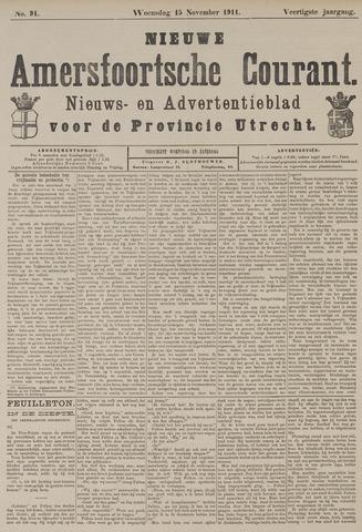 Nieuwe Amersfoortsche Courant 1911-11-15