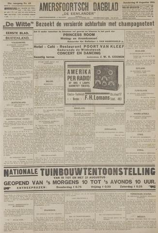 Amersfoortsch Dagblad / De Eemlander 1926-08-19