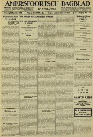 Amersfoortsch Dagblad / De Eemlander 1932-11-21