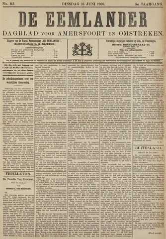 De Eemlander 1908-06-16