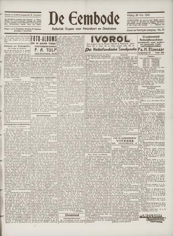 De Eembode 1933-10-20